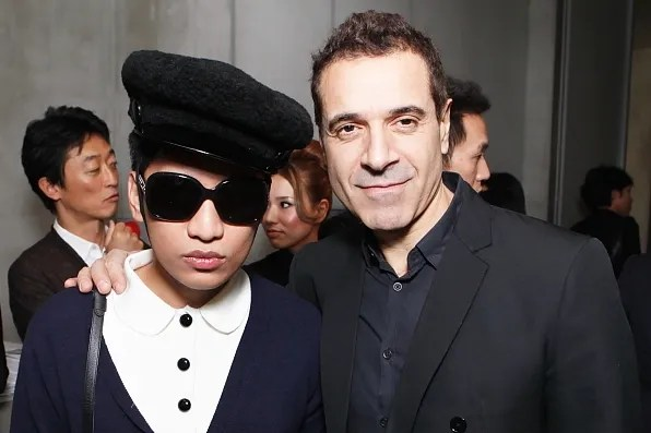 Bryanboy and Ennio Capasa at Costume National Aoyama Complex Tokyo