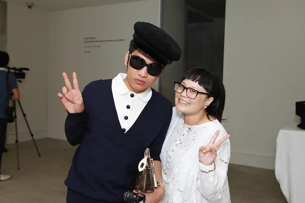 Bryanboy and Japanese blogger Mai Sassy Girl