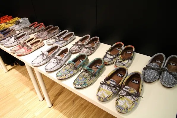 D&G Dolce & Gabbana menswear shoes spring summer 2012