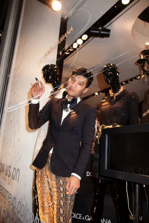 Dolce & Gabbana Blogger Windows