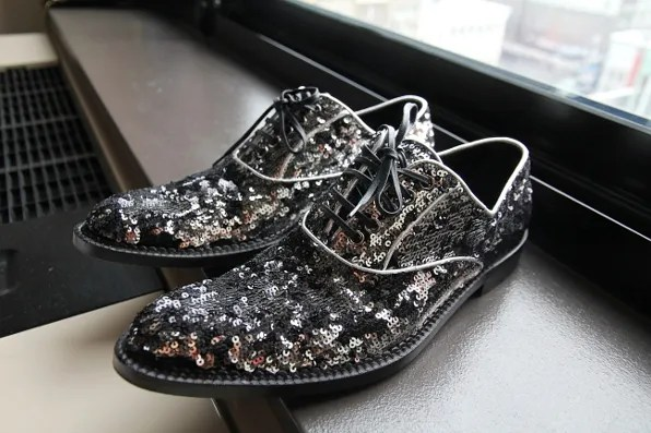 Dolce & Gabbana sequined shoes from fall/winter 2011 collection