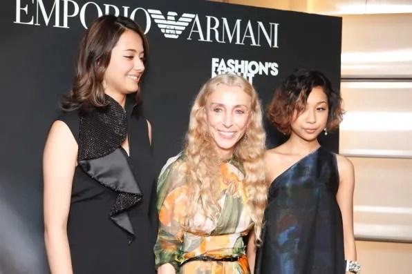 Franca Sozzani at Emporio Armani Tokyo