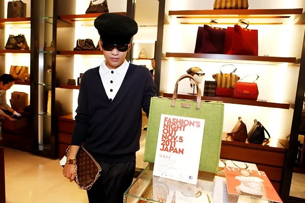 Bryanboy at the Fendi Store for Fashion's Night Out 2011 Japan