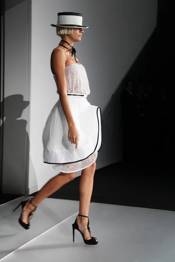First Look - Emporio Armani Spring Summer 2012 - Look 3