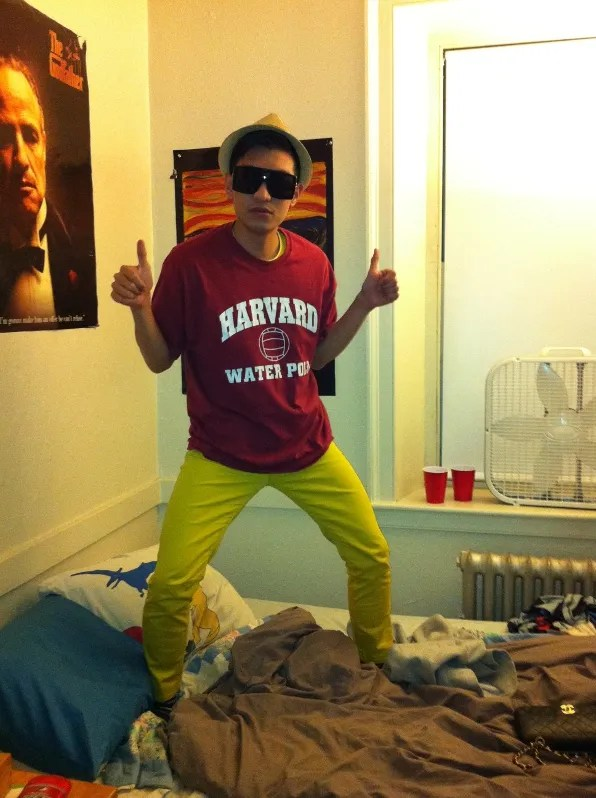 Bryanboy inside a water polo jock's dormitory