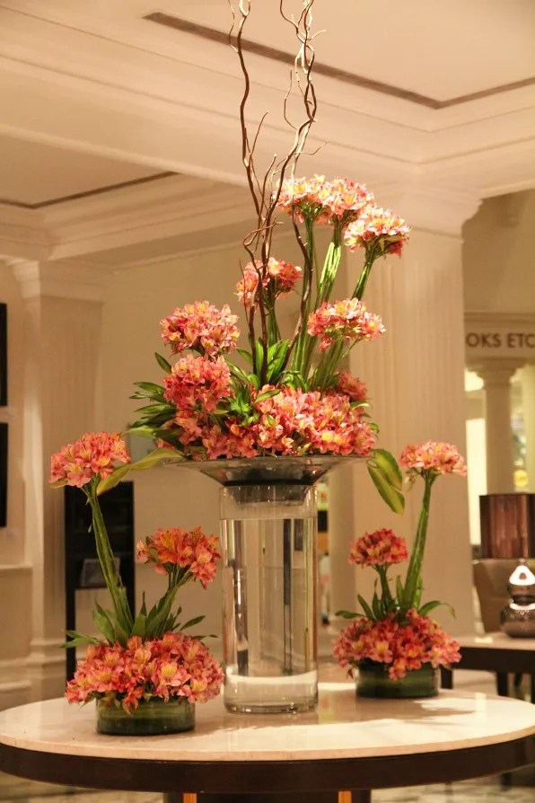 Floral Arrangement at the Claridges, New Delhi