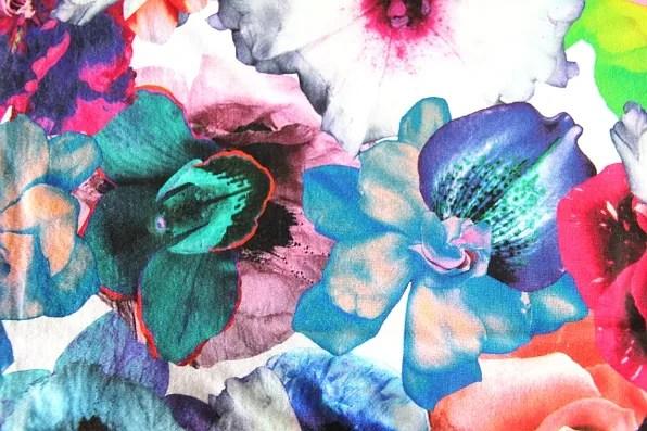 Jil Sander spring summer 2011 multicolor floral print t-shirt