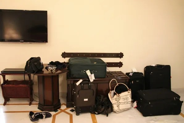Luggage for two people