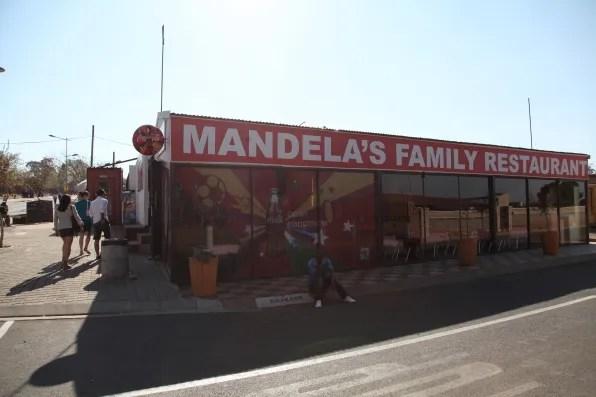 Mandela's Family Restaurant Soweto