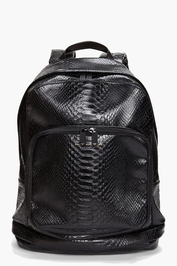 Marc by Marc Jacobs black nifty gifty backpack