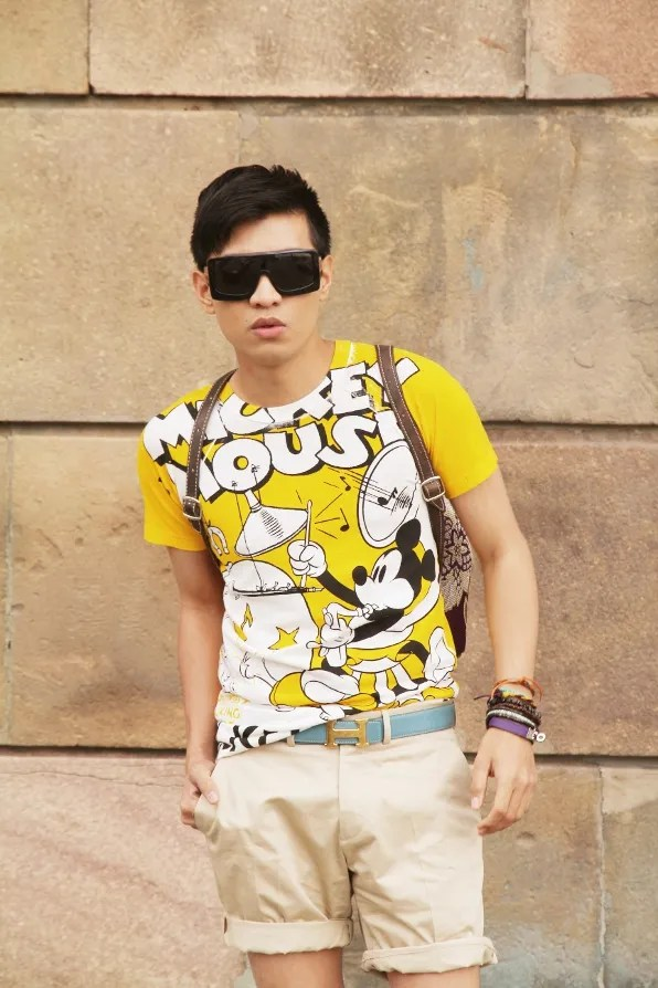 Mickey Mouse t-shirt by D&G Dolce & Gabbana and Disney collaboration