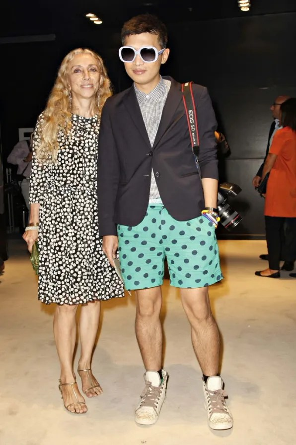 Bryanboy front row at Fendi spring/summer 2012