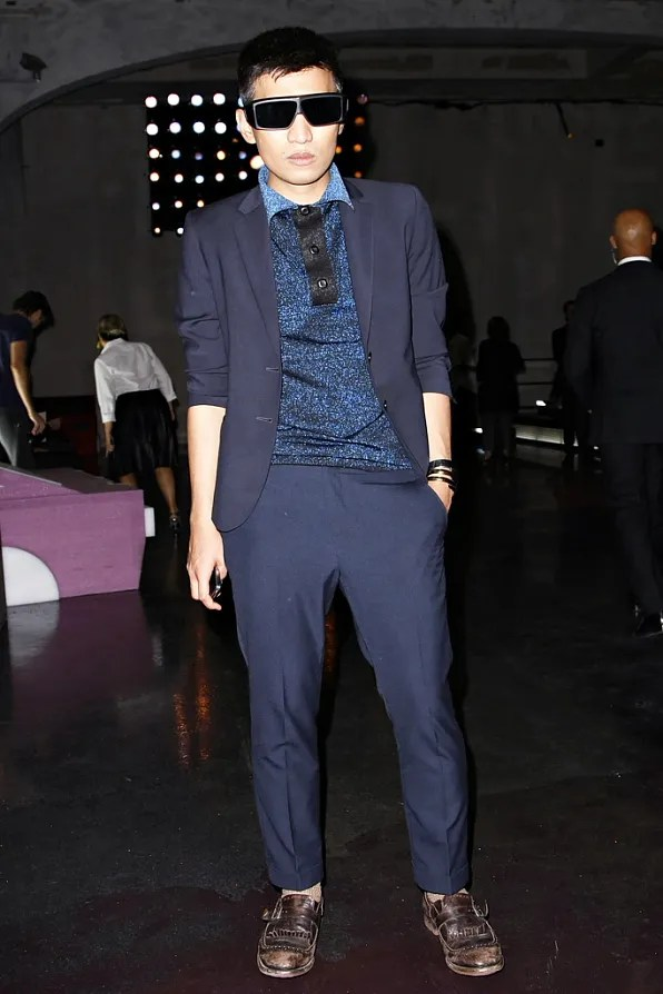 Bryanboy front row at Prada spring/summer 2012