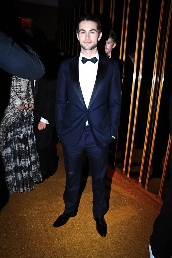 Chace Crawford at the Top of the Standard Hotel 2011 Met Ball After Party