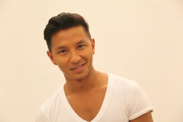 Prabal Gurung at his studio, spring/summer 2012