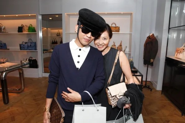 Bryanboy with Reed Krakoff Japan PR