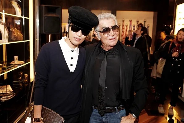 Bryanboy and Roberto Cavalli in Tokyo for Fashion's Night Out