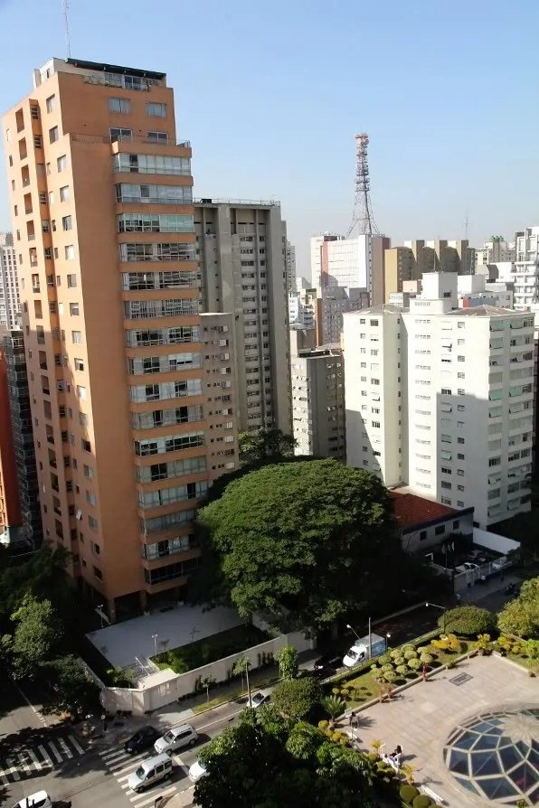 View from L'Hotel Porto Bay, Sao Paulo Brazil