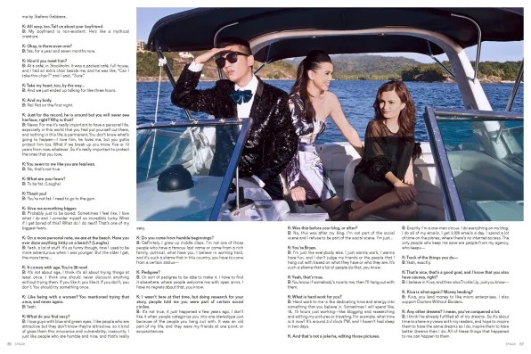Bryanboy interview on Spark Magazine Philippines March 2012