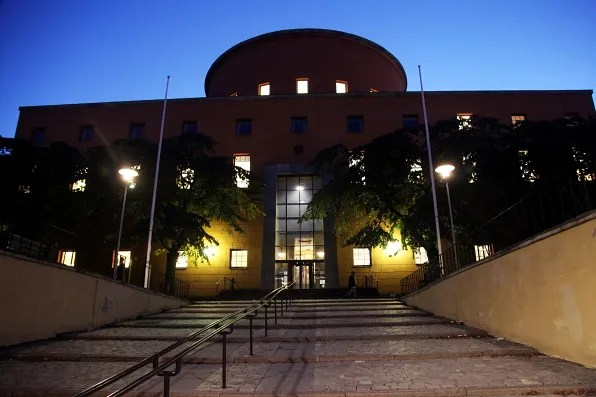 Stockholms Stadsbibliotek library exterior