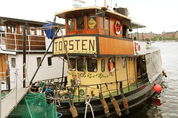 Tugboat Torsten 1895 Skeppsholmen, Stockholm