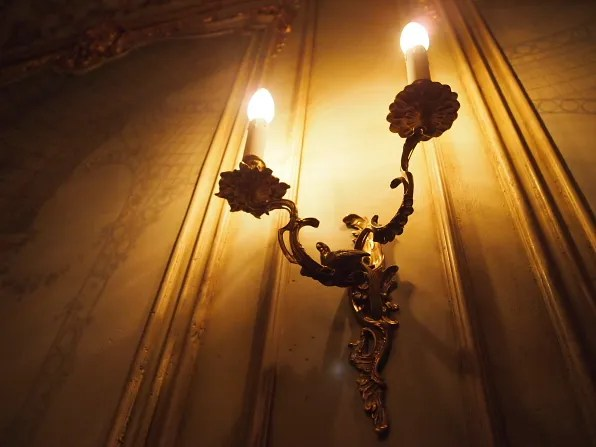 Lighting at Turandot restaurant, Moscow