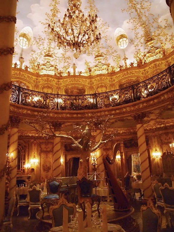 Ground floor of Turandot Palace restaurant Moscow, Russia