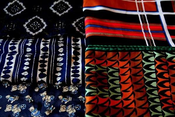 Vintage men's scarves from Herr Judit Stockholm