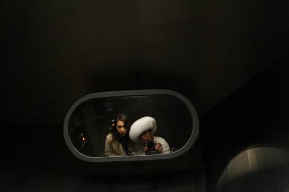 Bryanboy and Rumi Neely in Tokyo underground