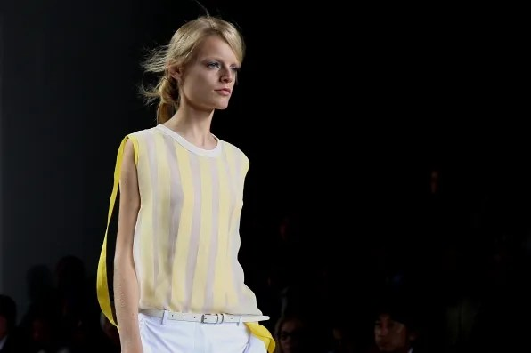 A look from 3.1 Phillip Lim spring summer 2012 fashion show
