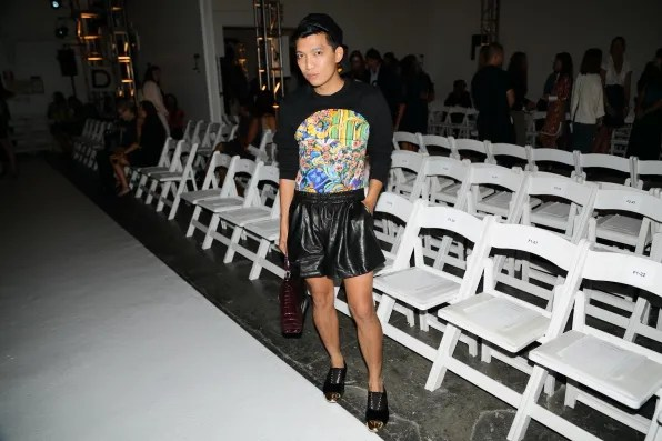 Bryanboy at Altuzarra spring/summer 2013 fashion show
