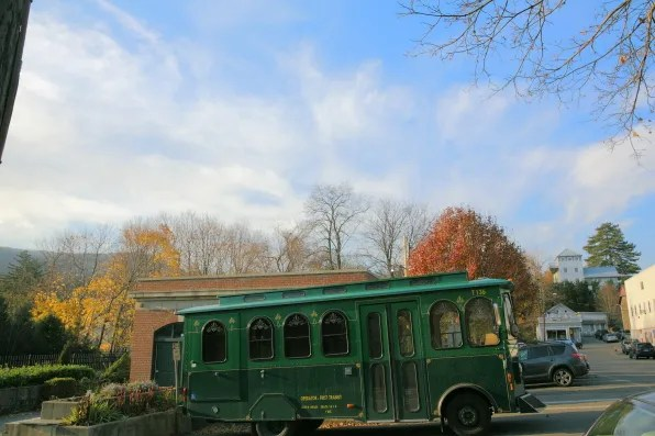 A carriage at Cold Spring, NY