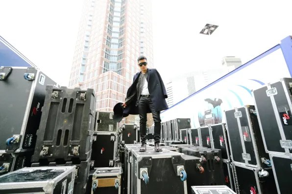 Bryanboy at Festhalle Frankfurt for 2012 MTV Europe Music Awards