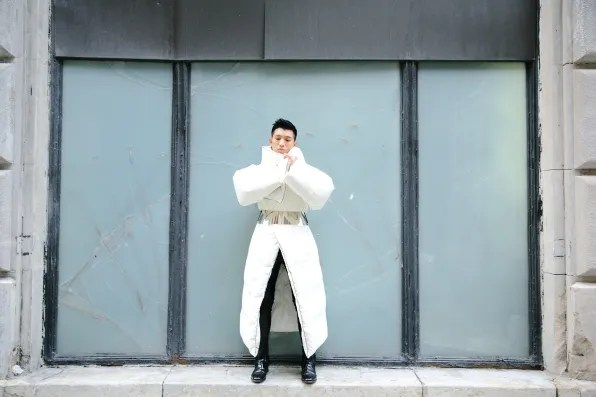 Maison Martin Margiela x H&M duvet coat