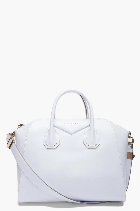 Givenchy Antigona Bag in white leather