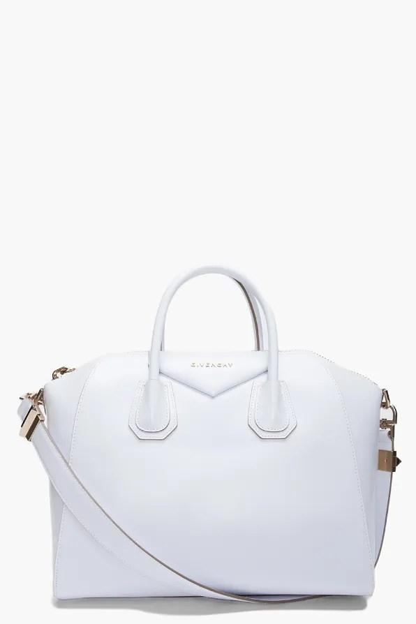 Givenchy Antigona Bag in white leather
