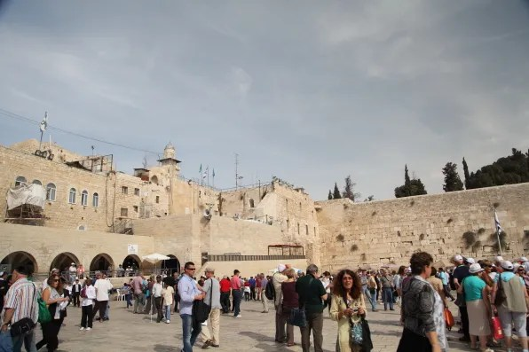 View of Western Wall Plaza, Jerusalem