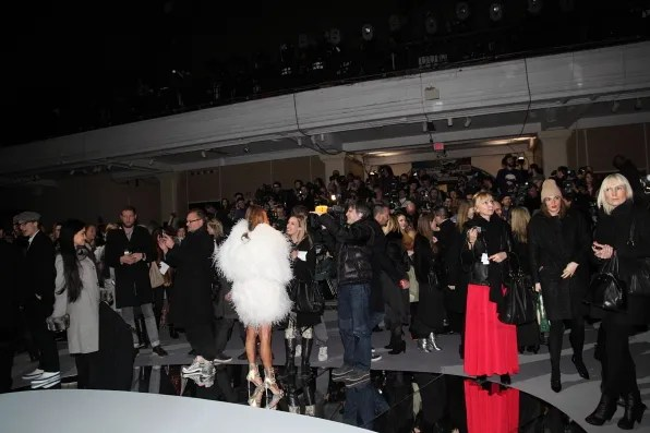 The Scene at Marc Jacobs fall winter 2012 fashion show