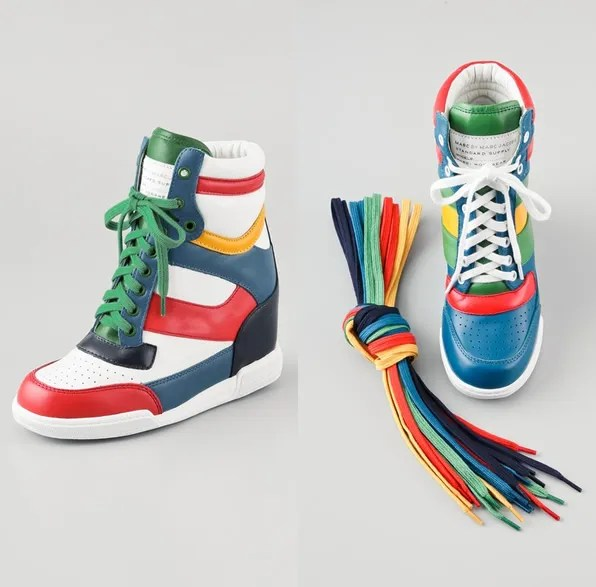 Marc by Marc Jacobs sneaker wedges spring summer 2012