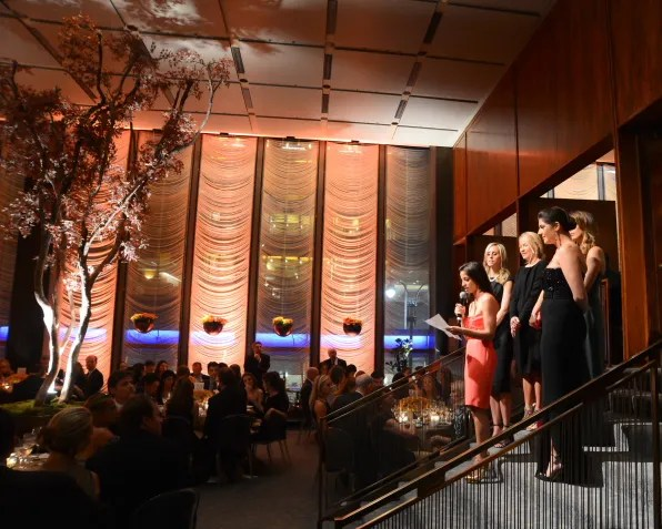 Memorial Sloan-Kettering Cancer Center Fall Party 2012 at Four Seasons Restaurant