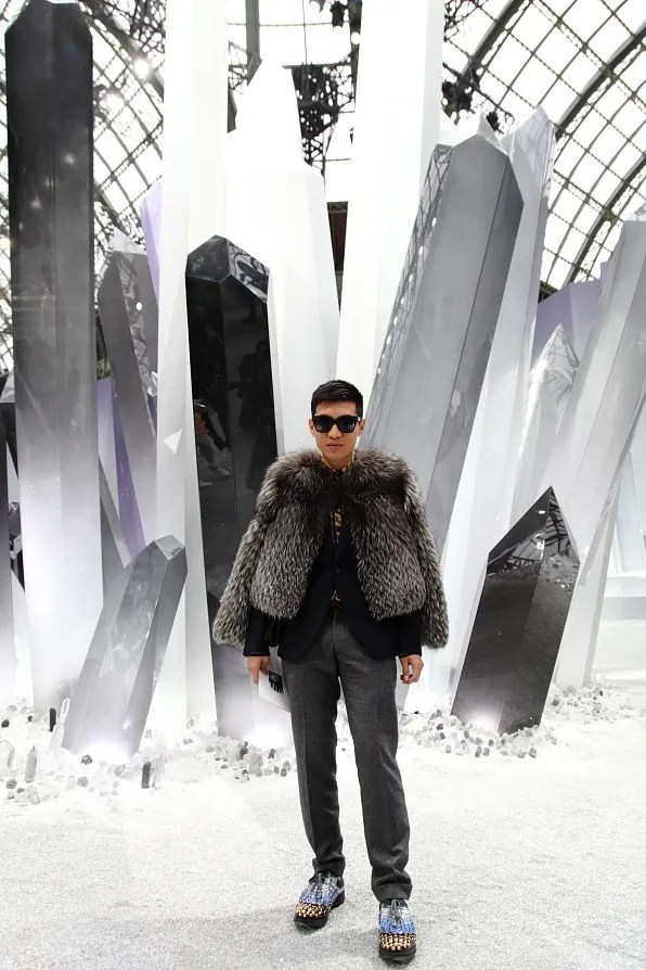 Chanel fall winter 2012 crystal set