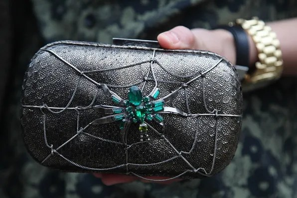 Spider clutch bag by Corto Moltedo