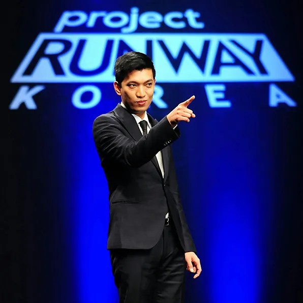 bryanboy at project runway Korea