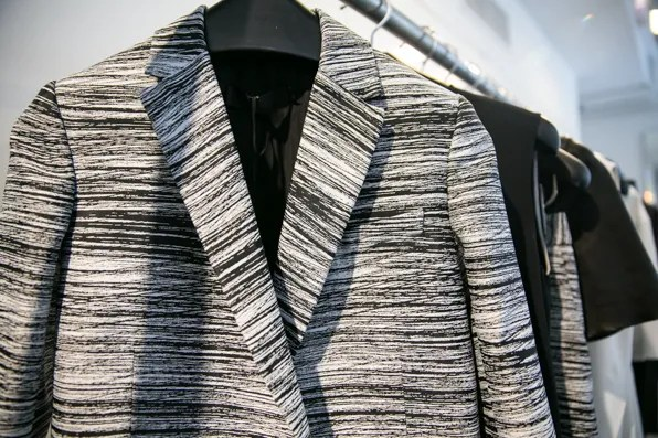 Calvin Klein Collection Resort 2014 printed jacket