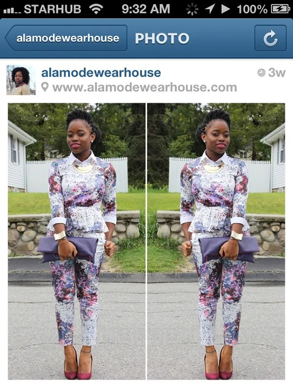 Francisca from Ala Mode Wearhouse in Massachusetts