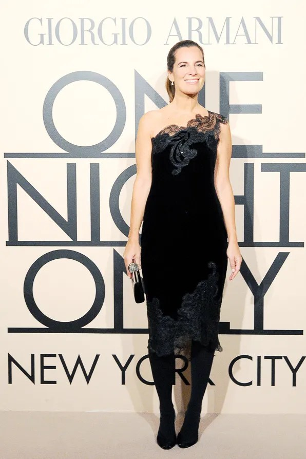 Roberta Armani at Giorgio Armani One Night Only New York