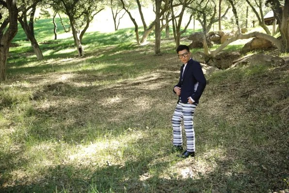 Bryanboy wearing spring/summer 2013 3.1 Phillip Lim pants