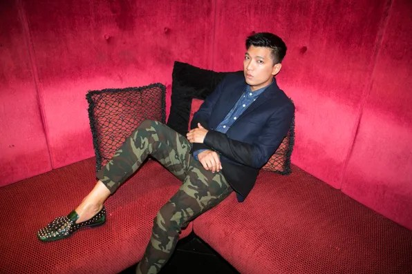 Bryanboy at the Scarlet Hotel Singapore