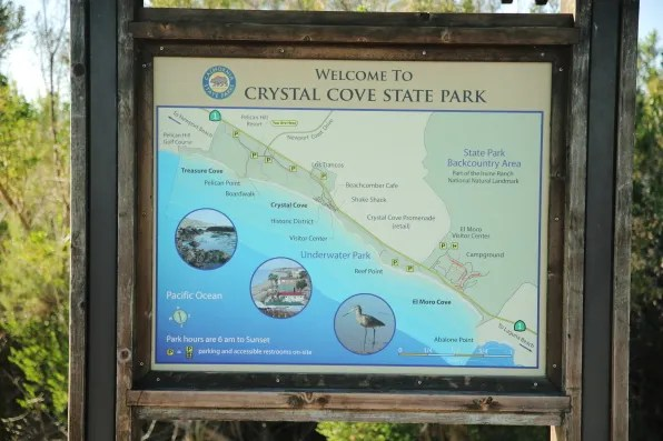Crystal Cove State Park, Orange County