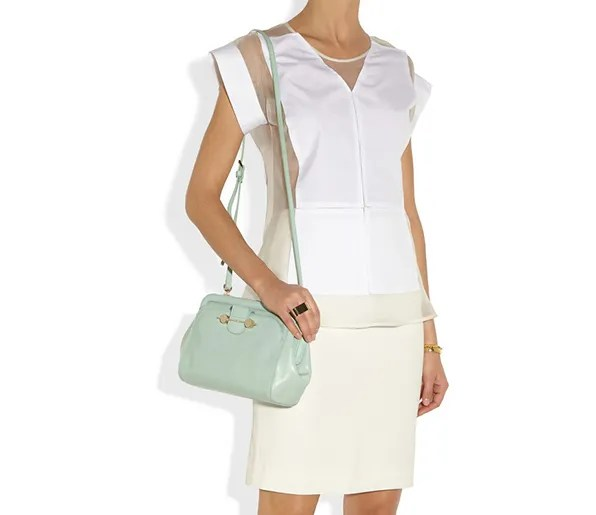 Mint leather Jason Wu Daphne shoulder bag